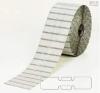 Бели PVC самозалепващи етикети за бижута, 56mm x 13mm, 1 000бр.