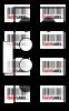 Прозрачна пластмасова планка за стойка Brother DK-11203, 17mm x 87mm