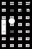 Прозрачна пластмасова планка за стойка Brother DK-11204, 17mm x 54mm