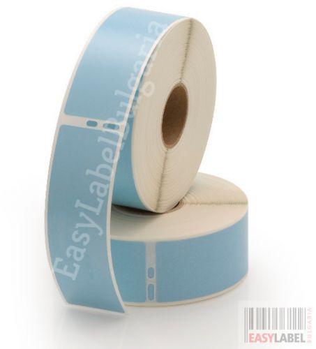Eтикети Dymo 99012, 36mm x 89mm, сини