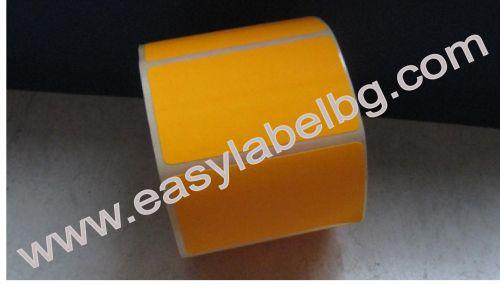 Етикети за цени, ръчно надписване,жълти, 50mm X 30mm