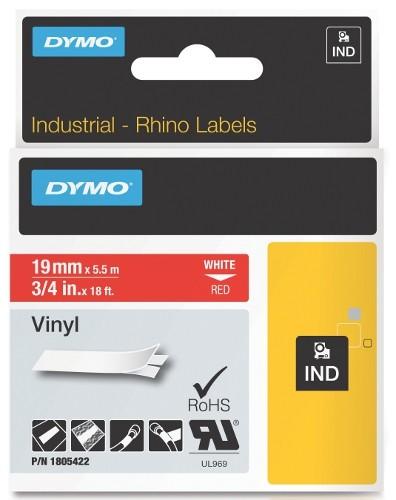 Dymo RhinoPRO 1805422  -19mm X 5,5m Червен Винил