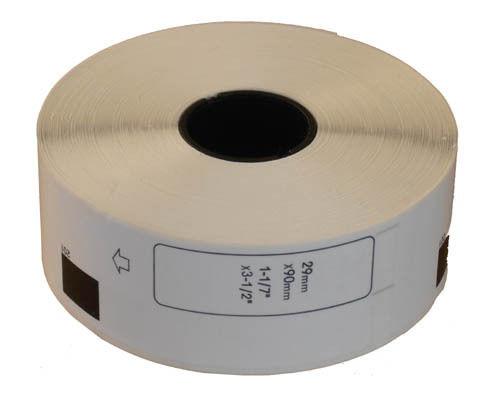Етикети Brother DK-11201, 29mm x 90mm, Стандартни етикети за адреси, съвместими