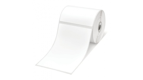 Консуматив Brother RD-S02E1 White Paper Label Roll, 278 labels per roll, 102mm x 152mm