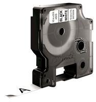 ЛЕНТА D1 - Dymo 45013, 12mm X 7m, бяла, черен надпис