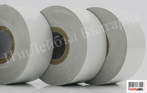 100 ролки Бяло кодинг фолио - термотрансферна лента за дата устройствa, Hot Foil, 40mm x 153m + БЕЗПЛАТНА ДОСТАВКА