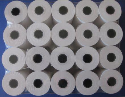 Касова ролка термо хартия, комплект, 28+28mm, 19m, опаковка: 20бр.