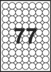 Самозалепващи етикети Fleks Ko, 70mm x 50,8mm, 500л. (7 500бр.)
