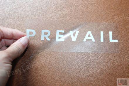 Напечатани прозрачни водоустойчиви самозалепващи PVC етикети / стикери, 100mm x 60mm, 500бр. (Печат по ваше задание - с поръчка!)