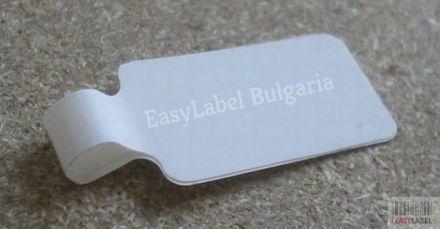 Съвместими 11351 Dymo етикети за бижута, 11mm x 54mm, бели