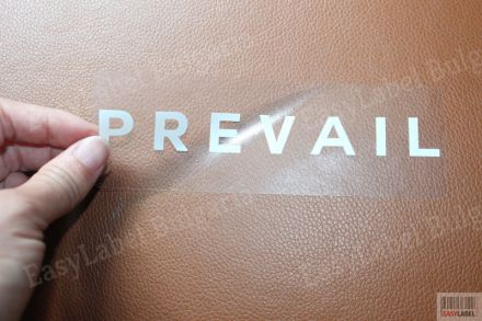 Прозрачен самозалепващ се правоъгълен стикер от PP фолио, 100mm x 60mm, 2 000бр.