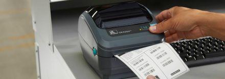 Етикетен баркод принтер Zebra GK420d