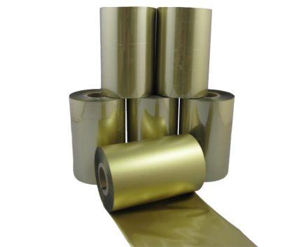 Термотрансферна лента за ТЕКСТИЛ AGT 94, златна