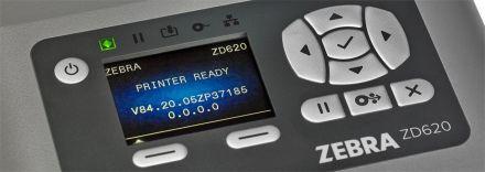 Zebra ZD620t Настолен термотрансферен принтер