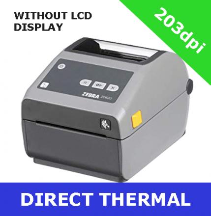 Zebra ZD620d Настолен термодиректен принтер с диплей