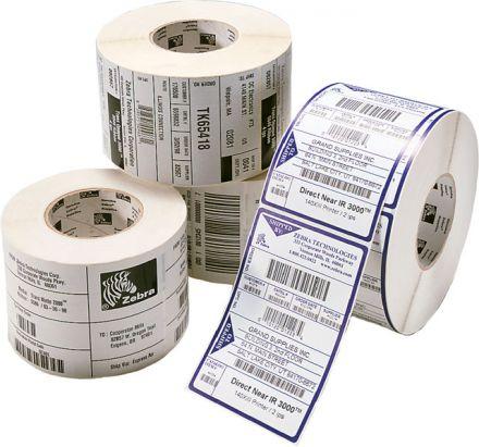 1 900бр. Етикети Zebra 800294-605, логистични етикети с перфорация, 101.6mm x 152.4mm, шпула 25mm