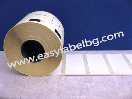 Термодиректни етикети, 62mm x 29mm /1/ 875бр., Ø30mm