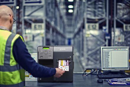 Принтер за печат на цветни етикети Epson С7500G