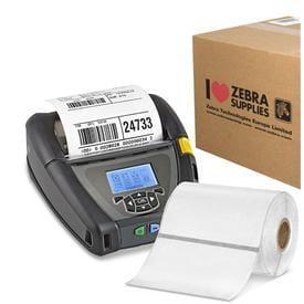 Етикети Zebra 3003355 PolyPro 4000D, label roll, synthetic, 76.2mm x 25.4mm, шпула 19mm