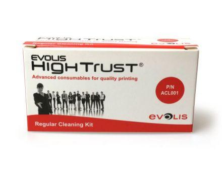 Почистващ комплект за ролери и печатащи термо глави Evolis ACL5001