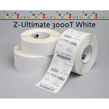 Zebra Z-Ultimate 3000T Polyester label 102mm x 64mm