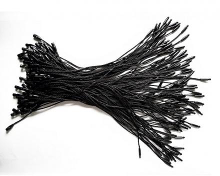 S120 Черни връзки за етикети, ръчни 120mm, 250 бр.