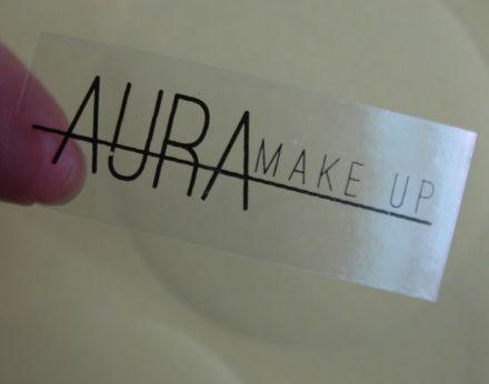 Напечатани правоъгълни прозрачни етикети/стикери, 36mm x 89mm, 130бр. (Печат по ваше задание - с поръчка!)