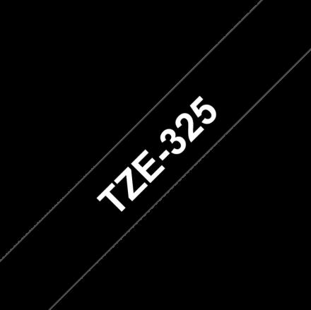 Съвместим Brother TZe-325 Tape White on Black Laminated 9mm
