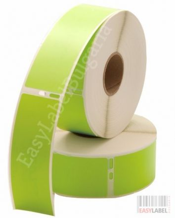 Compatible Dymo 99012 Labels, 89mm x 36mm, green - 260 labels, Permanent