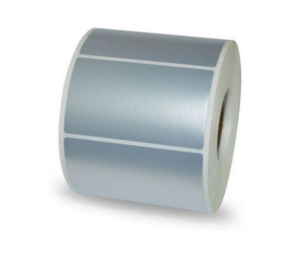 """Самозалепващи етикети от 3М фолио, полиестер (PET), 4""""x 3"""", 101.6mm х 76.2mm /1/ 2 000, Ø40mm"""
