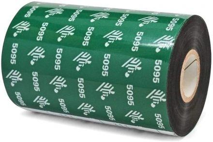 Термотрансфернa лентa Zebra 5095 Resin, Черна, 110mm x 300m (05095BK11030)