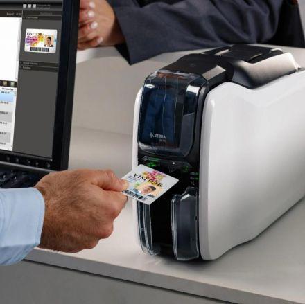 Принтер Zebra ZC100 за PVC карти - за едностранен печат