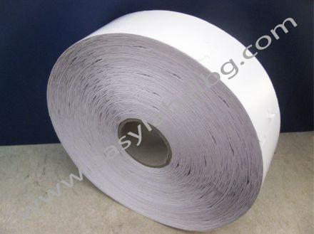 Eтикети за дрехи от картон, бели 48mm X 60mm
