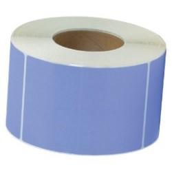 САМОЗАЛЕПВАЩИ ЕТИКЕТИ НА РОЛКА, пастелен цвят: син 100mm x 70mm