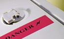 Предупредителни надписи и табели