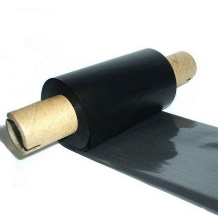 Термотрансферна лента, Eco WAX, Черна, 55mm х 74m