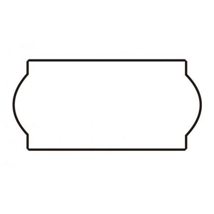 Етикети за маркиращи клещи, двуредови, бели, 26mm X 16mm