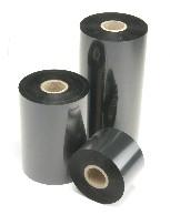 Термотрансферна лента, восъчнo-резинова, WAX/RESIN, Черна, 110mm X 300