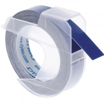 EMBOSSING LABEL TAPE Dymo, 9mm X 3m, Blue