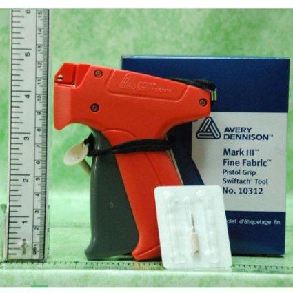 Пистолет за поставяне на етикети, фин