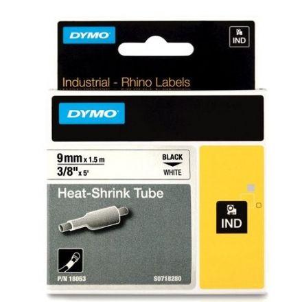 Dymo RhinoPRO 1805436 - 19mm X 5,5m Черен Винил/Бял Надпис
