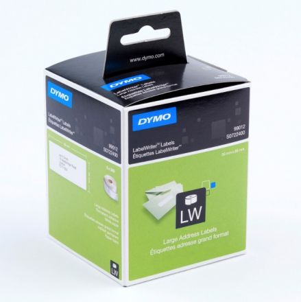 Dymo 99012 Large Address Labels 89mm x 36mm
