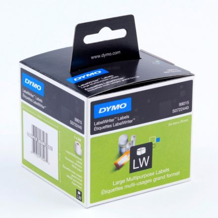 Етикети Dymo 99015 Large Multifunctional / diskette labels 54x70mm