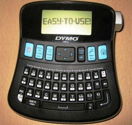 Етикетен принтер DYMO LabelManager 210D, кирилица+латиница