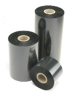 Термотрансферна лента, WAX, Черна, 175mm X 450m