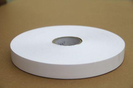 Текстилна лента, Тафта, Бяла, Найлон, 30mm X 200m