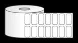 Термодиректни етикети DATECS 28mm X 16mm, без черна лента, с подсилено лепило