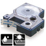 ЛЕНТА D1 - Dymo 45011, 12mm X 7m, прозрачна, син надпис