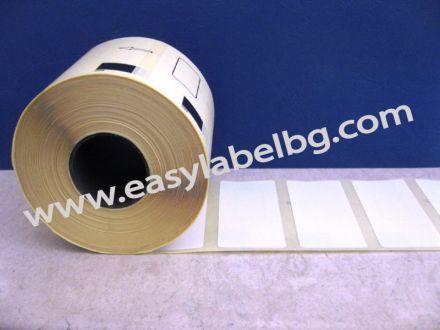 Термодиректни eтикети с черна марка, BROTHER DK-11241, 102mm X 152mm