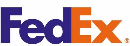 FEDEX Zebra 800740-605 логистични етикети, термодиректни 102mm x 152mm /1/ 900, core 76mm